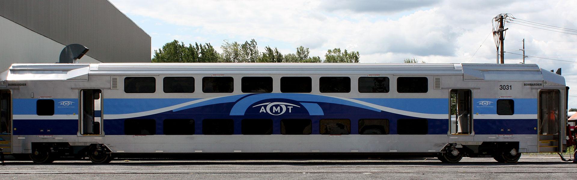 Specialty wrap Header train
