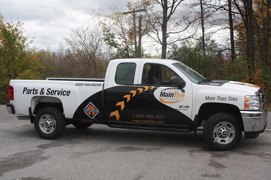 Pickup Truck Auto Car Fleet Trailer Vehicle Wraps In