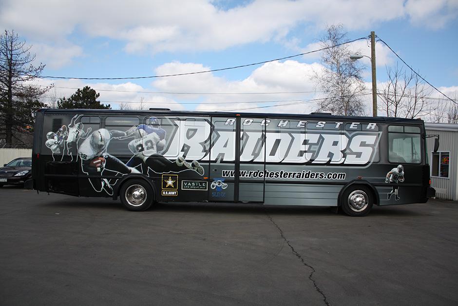 3m Vinyl Bus Wrap In Binghamton Buffalo Erie With Window
